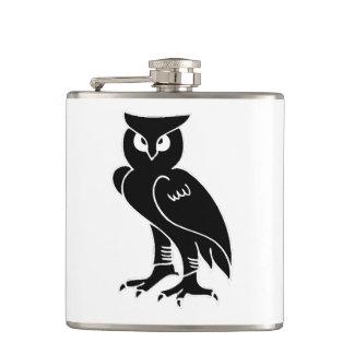 Owl Silhouette Flask