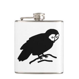 Owl Silhouette Flasks