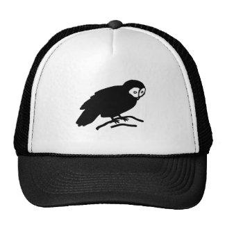 Owl Silhouette Trucker Hats