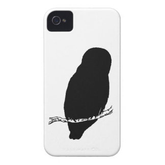 Owl Silhouette iPhone 4 Cases