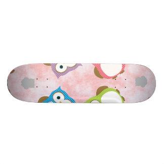 Owl Custom Skateboard