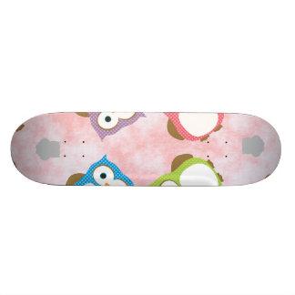 Owl Skateboard Decks