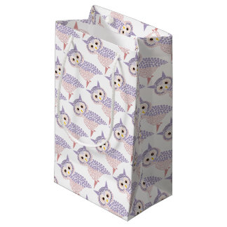 owl small gift bag