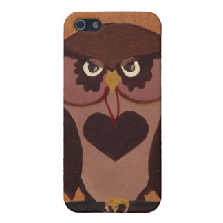 Owl Speck® Fitted™ Hard Shell Case for iPhone 4