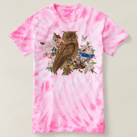 Owl Spirit Animal TieDye T-Shirt