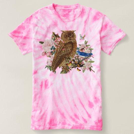 Owl Spirit Animal TieDye T-Shirt