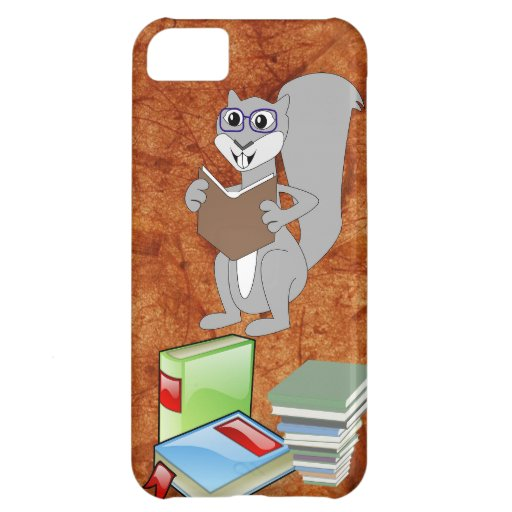 Owl Squirrel Smart School Teacher Destiny Class Cover For iPhone 5C
