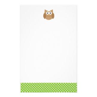 Owl Stationery
