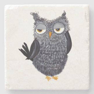 Owl Stone Coaster