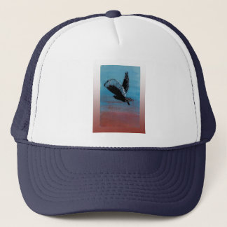 Owl Sunrise Art Trucker Hat