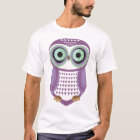 Owl T-Shirt Purple