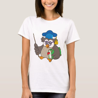 Owl teacher with book and pointer T-Shirt