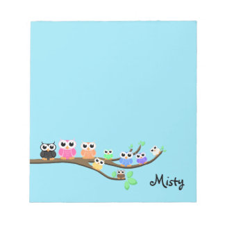 """""""OWL Together Now"""" Notepad"""