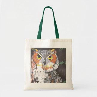 Owl Budget Tote Bag