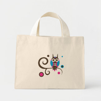 Owl Tote Canvas Bags