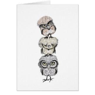 owl totem card