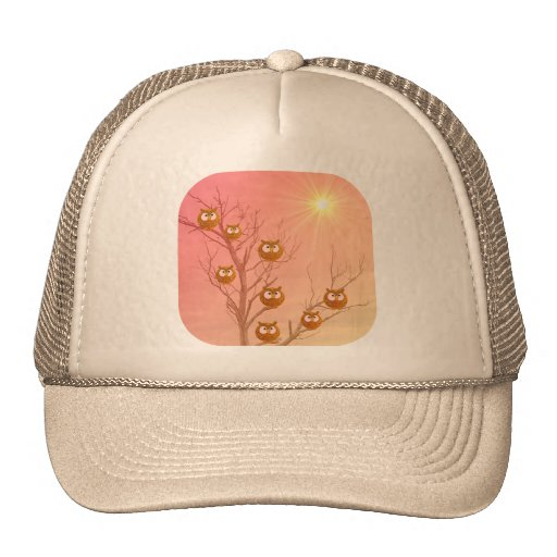Owl Tree Gifts Hats