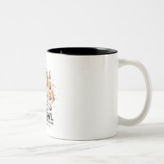 Owl Tubular 1883 patent with splatter coffee mug