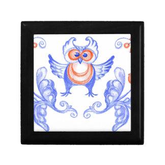 Owl Ukrainian style Gift Box