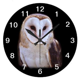 owl wall clocks