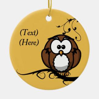 Owl Whooo Christmas Ornament