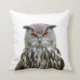 Owl wild animal cute nursery photo cushion