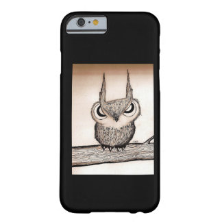 Owl with Attitude Barely There iPhone 6 Case