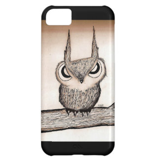 Owl with Attitude Cover For iPhone 5C