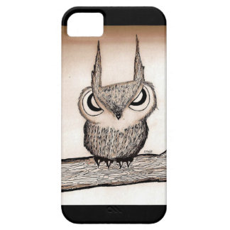 Owl with Attitude iPhone 5 Covers