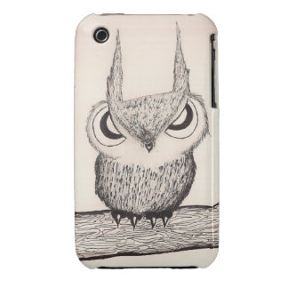 Owl with Attitude - Hard Case