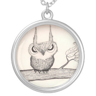 Owl with Attitude Necklace