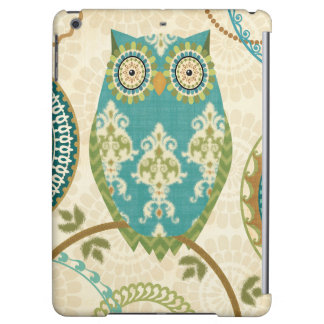 Owl with Circular Patterns