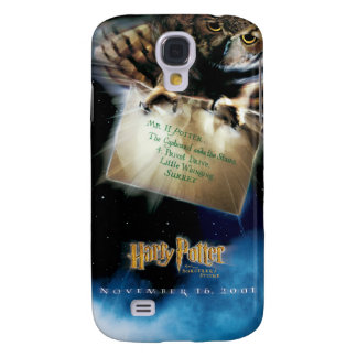Owl with Letter Movie Poster Galaxy S4 Case