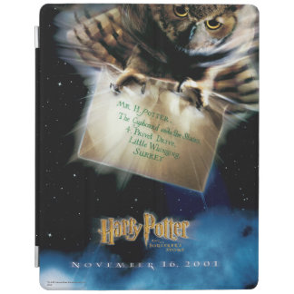 Owl with Letter Movie Poster iPad Cover