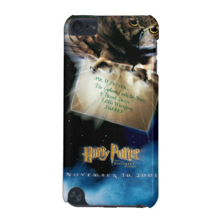 Owl with Letter Movie Poster iPod Touch (5th Generation) Case