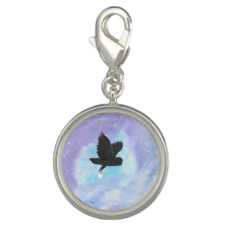 Owl With Mail Charm