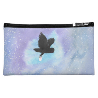 Owl With Mail Cosmetic Bag