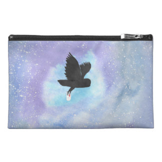 Owl With Mail Travel Accessory Bag