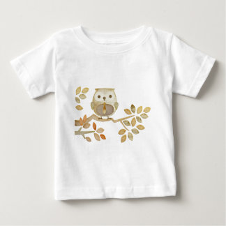 Owl with Tie in Tree Baby T-Shirt