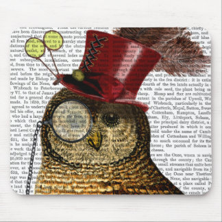 Owl With Top Hat 3 Mouse Pad