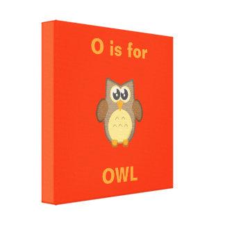 Owl Wrapped Canvas Canvas Prints