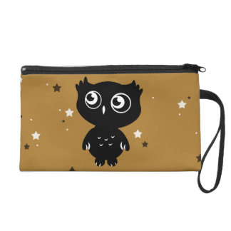 Owl Wristlet Clutches
