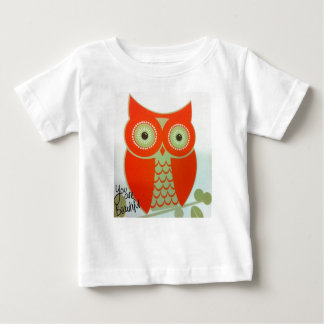 Owl you are beautiful Baby Fine T-Shirt,White. Baby T-Shirt