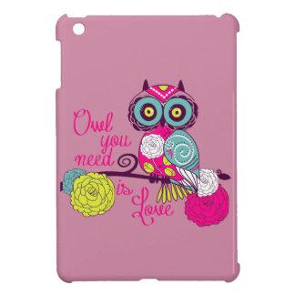 Owl you need is love iPad mini cases