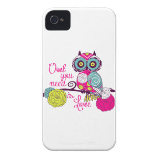 Owl you need is love iPhone 4 covers