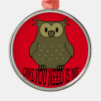 owl you need is me christmas ornament