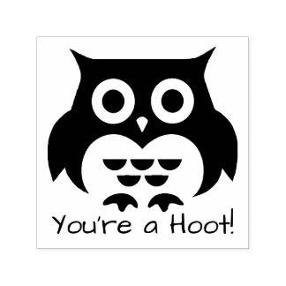 Owl You're a Hoot Self-inking Stamp