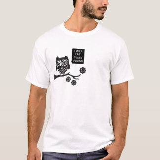 owl, yummy T-Shirt