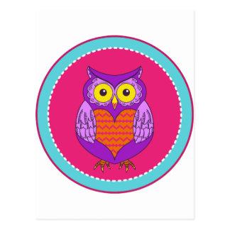 owlcircle postcards