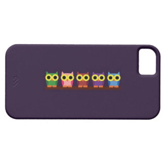 OWLIE BOO - Colorful owls iPhone 5 Cover